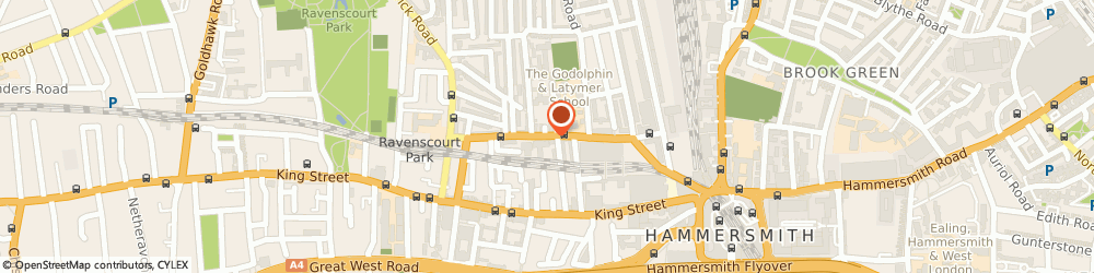 Route/map/directions to PerfectPrime, W6 0LJ London, Unit 3, 61 Glenthorne Road