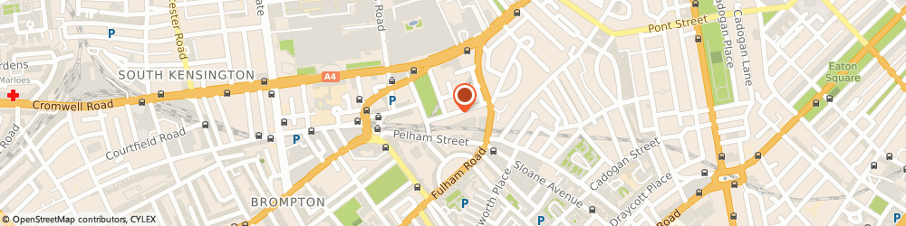 Route/map/directions to Kasimira, SW7 2TB London, 29 SOUTH TERRACE