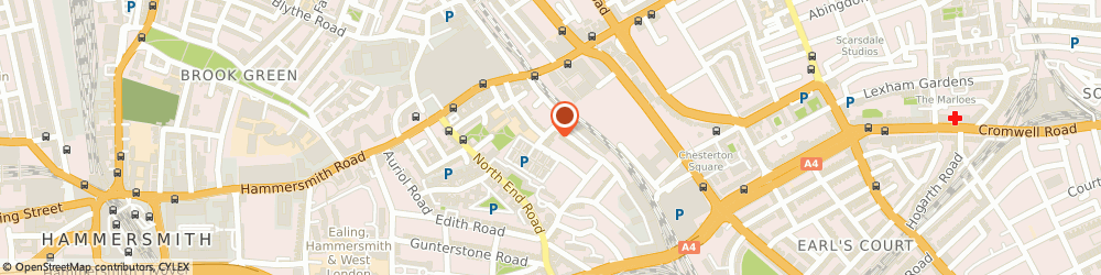 Route/map/directions to Simply Rooms & Suites, W14 8RP London, 21 Avonmore Rd