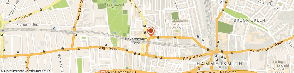 Route/map/directions to Simon Meyer & Associates, W6 0LP London, 122 GLENTHORNE ROAD