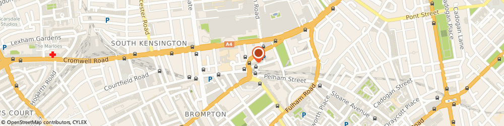 Route/map/directions to Five Guys, SW7 2LQ London, 43 Thurloe St.