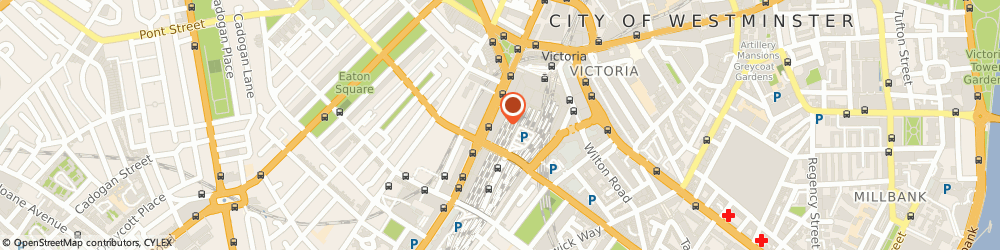 Route/map/directions to LEON Victoria Place, SW1W 9SJ London, 115 Buckingham Palace Road