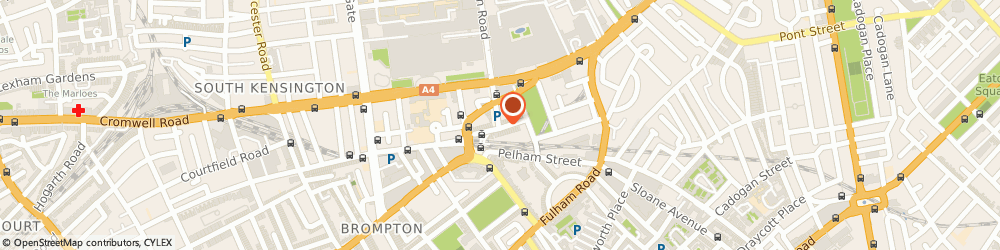 Route/map/directions to The Medici Galleries, SW7 2LT London, 26 Thurloe St