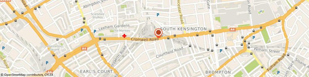 Route/map/directions to London Damp Specialists, SW7 4EF London, 142 Cromwell Road