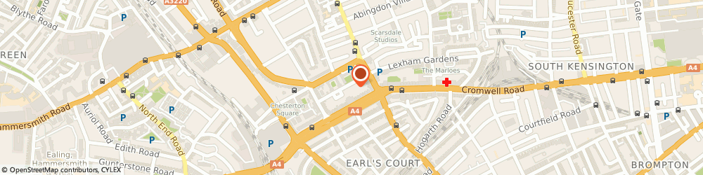 Route/map/directions to Amanda Wakeley, W8 6QN London, Lee Court, 3 Logan Pl