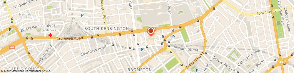 Route/map/directions to The Gainsborough Hotel, SW7 2DL London, 7-11 Queensberry Pl