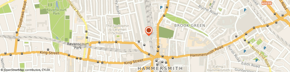 Route/map/directions to Discount Landlord Insurance, W6 7BA London, 26-28 Hammersmith Grove