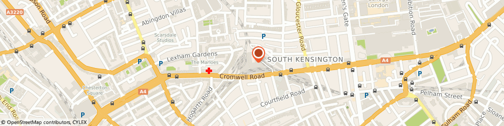 Route/map/directions to Locksmiths of Chelsea, SW7 4XN London, 116 Cromwell Rd