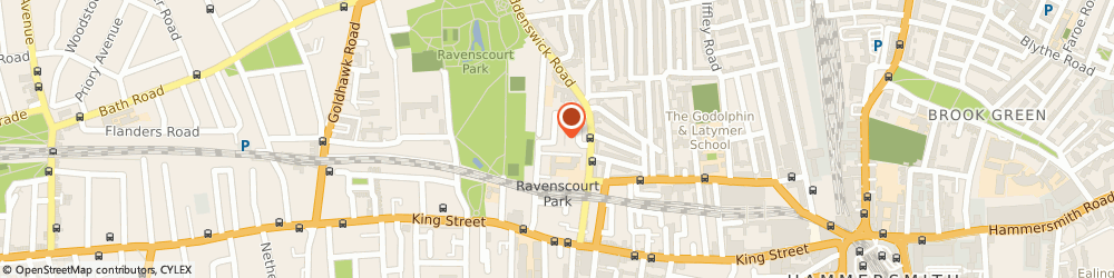 Route/map/directions to Sky Access Scaffolding, W6 0HP London, 54 Flora Gardens