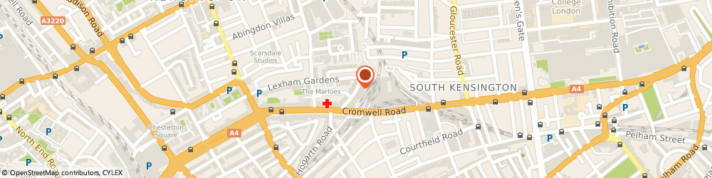 Route/map/directions to Earls Court Locksmiths 020 7060 4183, W8 5JJ London, 17C Lexham Gardens