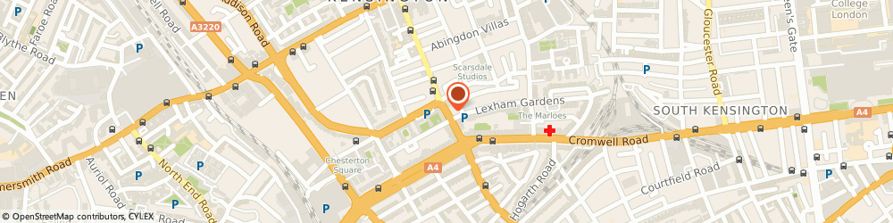 Route/map/directions to The Dance School, W8 6QH London, Earls Ct Rd