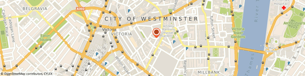 Route/map/directions to Vccp, SW1P 1DH London, 3Rd Floor, Greencoat House, Francis Street