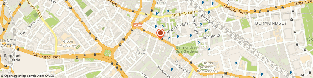 Route/map/directions to Foundry, SE1 5TE London, 21 Crimscott St