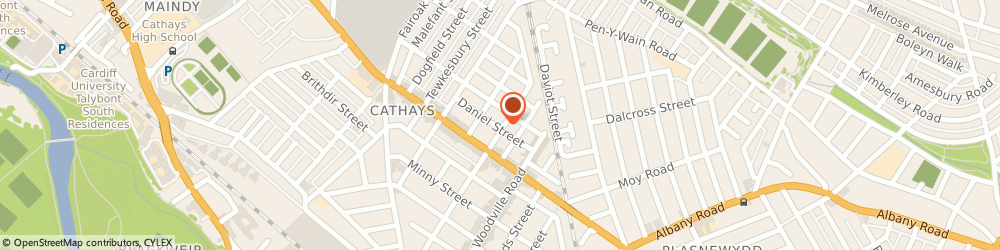 Route/map/directions to Cardiff Appliance Repairs, CF24 4NY Cardiff, 30 Daniel St