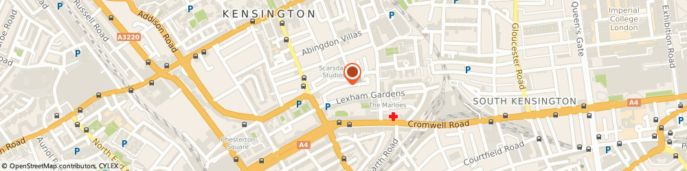Route/map/directions to LHH Management, W8 6JW London, 13 Lexham Mews