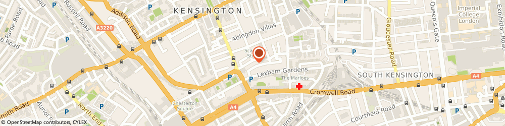 Route/map/directions to Sayer Clinic, W8 6PX London, 8 Sunningdale Gardens