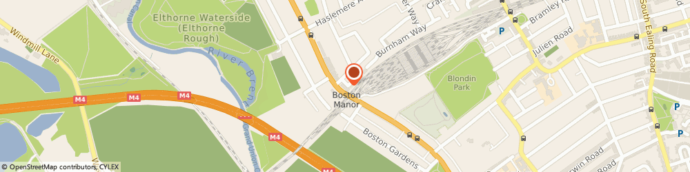 Route/map/directions to B.A Cheeseman & Co, W7 2QE London, Boundary House, Boston Rd