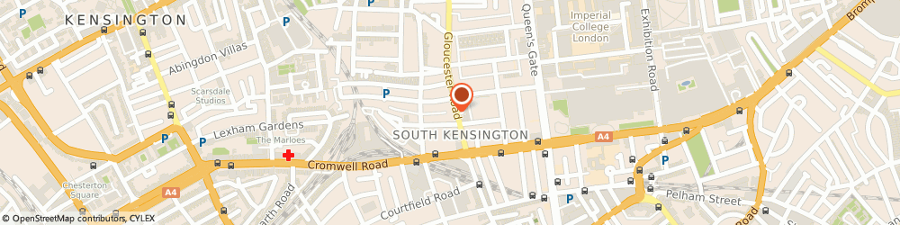 Route/map/directions to Royal Chelsea Cars, SW7 4RH London, 104 Gloucester Rd