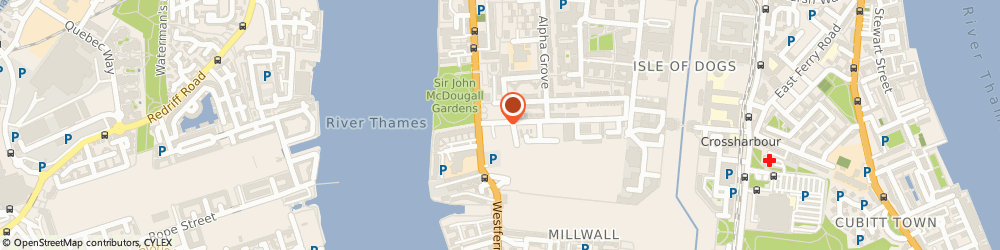 Route/map/directions to CARRY INTERNATIONAL LTD, E14 8PX London, 12/1AB, DOCLAND BUSINESS CENTER, 10-16 TILLER ROAD