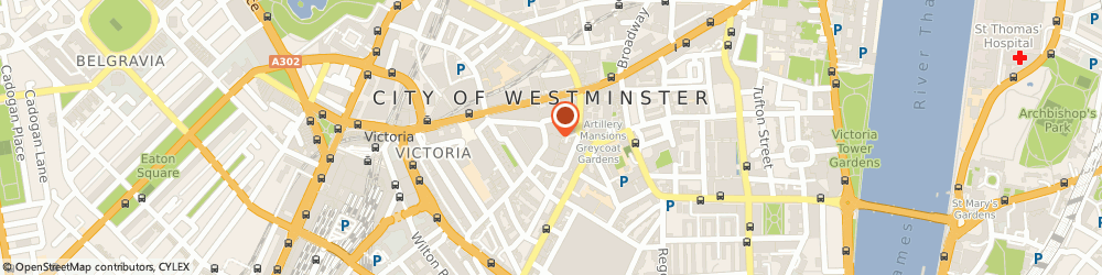 Route/map/directions to Stitched, SW1P 1DE London, 11 Francis St