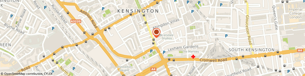 Route/map/directions to Kensington Locksmiths, W8 6EG London, Earl's Court Road