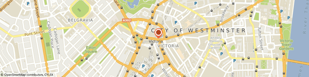 Route/map/directions to Reed Accountancy Personnel, SW1E 5NE London, 181-183 VICTORIA STREET