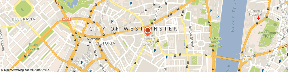 Route/map/directions to Sew & Go, SW1P 1RH London, 21 ARTILLERY ROW