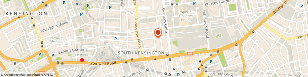 Route/map/directions to Kensington Locksmiths, SW7 5RR London, Queen`s Gate Gardens