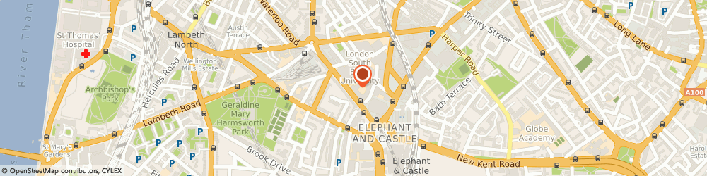 Route/map/directions to Cameron And Wilding Ltd, SE1 6LN London, 90 London Rd