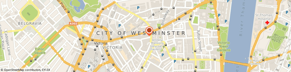 Route/map/directions to HOUSE OF FRASER, SW1E 6QX London, 101 Victoria Street