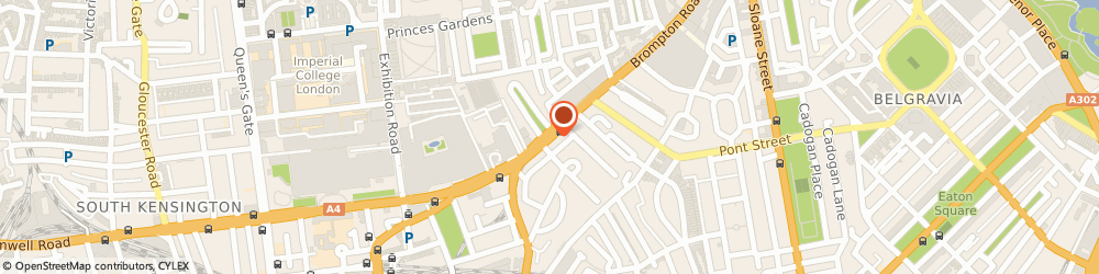 Route/map/directions to Scaffolding Response, SW3 1DE London, 35 Brompton Road