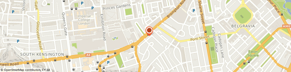 Route/map/directions to Cotswolds Outdoor, SW3 1ER London, 92 Brompton Road