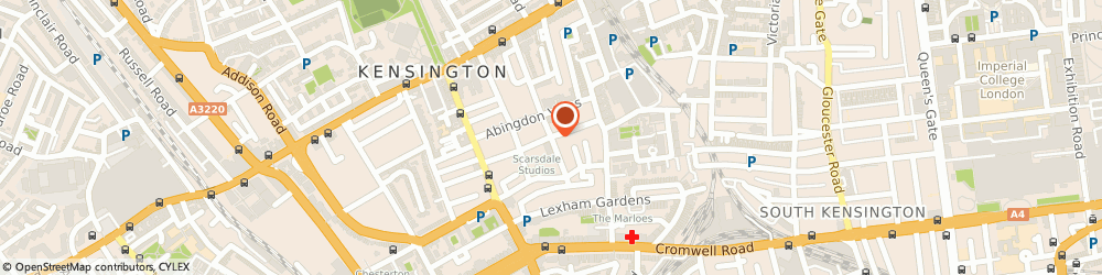 Route/map/directions to Locksmith Kensington, W8 6PP London, 71C Scarsdale Villas, Kensington