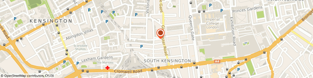 Route/map/directions to K M Butt, SW7 4QP London, 8 Kynance Mews