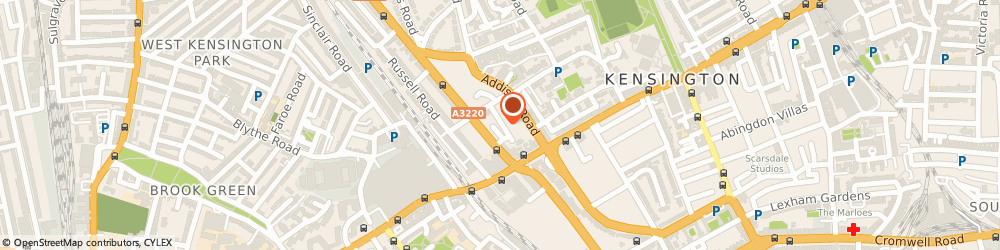 Route/map/directions to AMD plc, W14 8LG London, 11 NAPIER PLACE