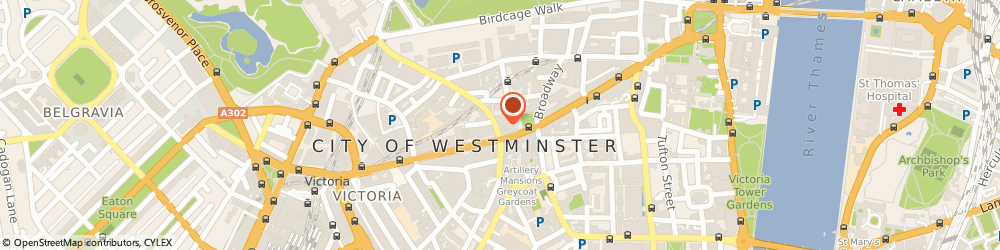 Route/map/directions to TYMAN MANAGEMENT LIMITED, SW1E 6AS London, 65 BUCKINGHAM GATE