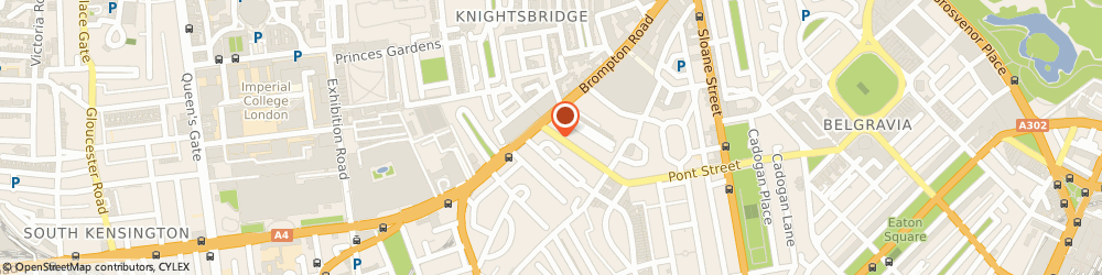 Route/map/directions to Star Tailoring, W3 1NZ London, 61 Beauchamp Place, Knightsbridge
