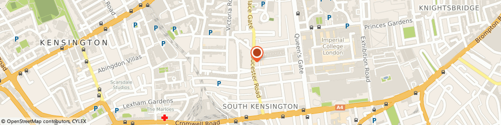 Route/map/directions to London Locksmiths Services Ltd, SW7 4UB London, Suite 302