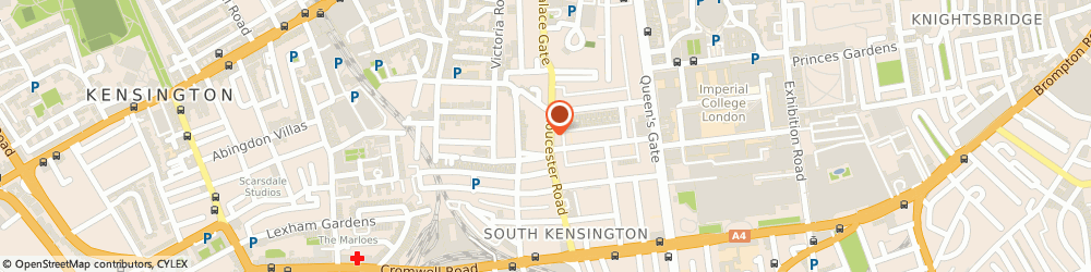 Route/map/directions to Seen Photo, SW7 4QT London, 52 Gloucester Rd