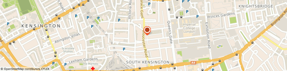 Route/map/directions to Margaret Mill, SW7 4QT London, 48 Gloucester Rd