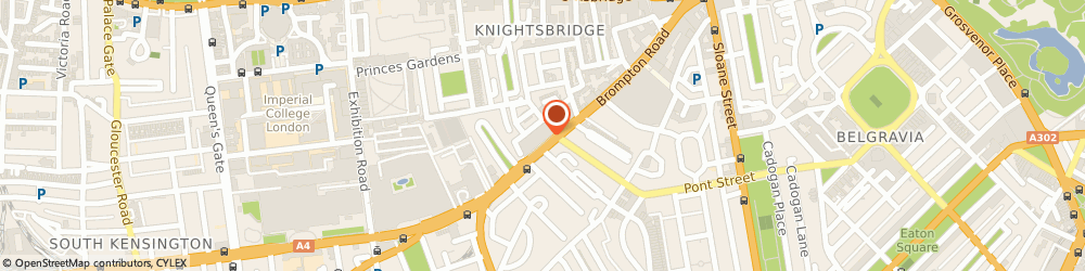 Route/map/directions to Siematic At Knightsbridge, SW3 1HW London, 172 Brompton Road
