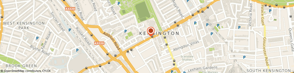 Route/map/directions to Mail Boxes Etc., W8 6ND London, 272 Kensington High Street