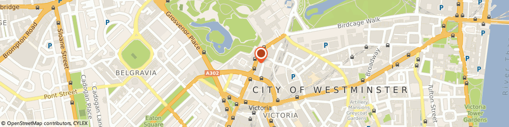 Route/map/directions to Maire Stedman, SW1W 0EN London, Lower Grosvenor Place