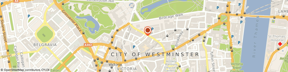 Route/map/directions to Prime Dry Cleaners, SW1E 6PA London, 35 Buckingham Gate