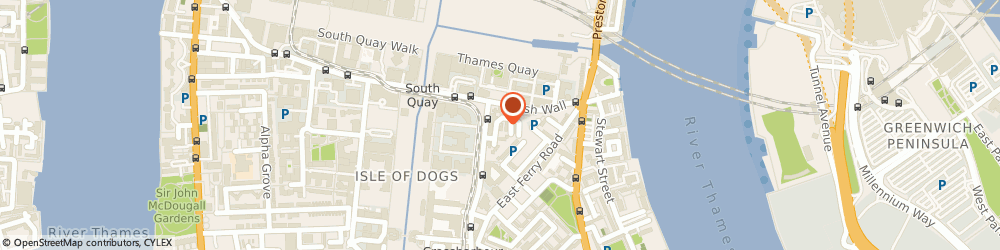 Route/map/directions to Chauffeur Force Ltd, E14 9TS London, 43 Skylines Village, Marsh Wall