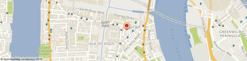 Route/map/directions to Quick Innovations, E14 9TS London, 44, Skylines Village