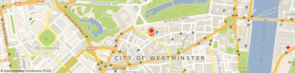 Route/map/directions to Nova Capital Management Limited, SW1E 6NN London, 1ST FLOOR, CAYZER HOUSE 30 BUCKINGHAM GATE
