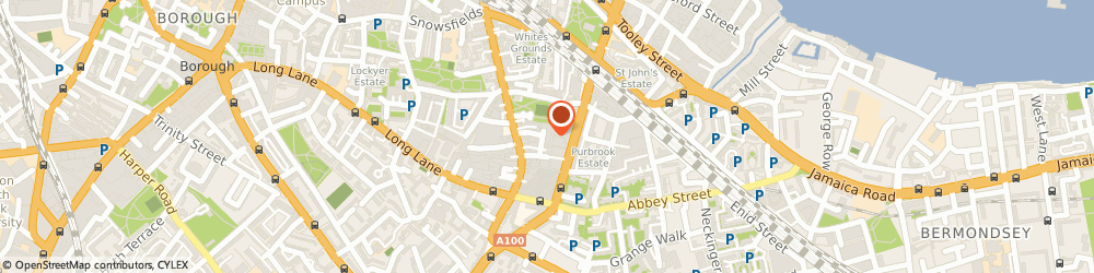 Route/map/directions to Poussin Gallery, SE1 3UW London, block K, 13 bell yard mews, 175 bermondsey street