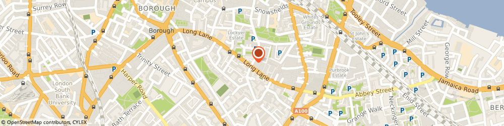 Route/map/directions to The Organic Towel Co Ltd, SE1 3QB London, 108 WESTON STREET