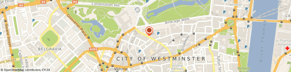 Route/map/directions to Wcl Intermediate Holdings Limited, SW1E 6LD London, 25 BUCKINGHAM GATE